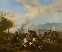 Huchtenburg~Cavalry Engagement