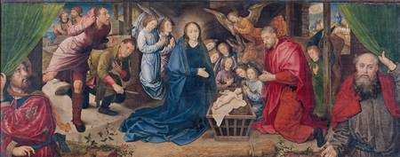 Hugo Van der Gus~The Adoration of the Shepherds