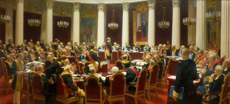 Ilya Repin~Ceremonial Sitting of the State Council