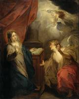 Jacob de Wit~Annunciation to the Virgin
