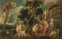 Jacob Jordaens~Marsyas Ill-Treated by the Muses