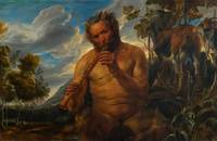 Jacob Jordaens~Satyr Playing the Pipe (Jupiter's C