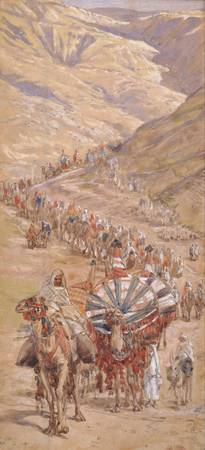 James Jacques Joseph Tissot~The Caravan of Abram