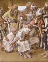 James Tissot~Jacob Mourns His Son Joseph