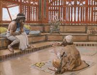James Tissot~Joseph Converses With Judah, His Brot