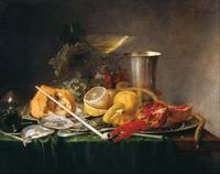 Jan Davidsz. de Heem~Still Life, Breakfast with Ch