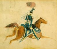 Constantin Guys~Man on Horseback