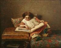 Eastman Johnson~The Art Lover