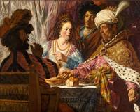 Jan Lievens~The Feast of Esther