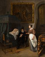 Jan Steen~The Doctor's Visit