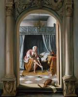 Jan Steen~Woman at her Toilet