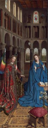 Jan van Eyck~The Annunciation