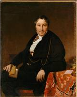 Jean Auguste Dominique Ingres~Jacques-Louis Leblan
