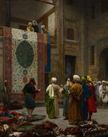 Jean-Léon Gérôme~The Carpet Merchant
