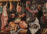 Joachim Beuckelaer~The Butcher's Shop