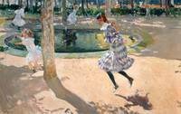 Joaquín Sorolla~The Skipping Rope