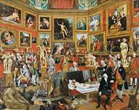 Johann Zoffany~The Tribuna of the Uffizi