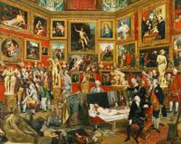 Johann Zoffany~Tribuna of the Uffizi