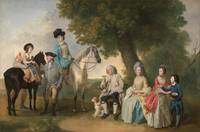 Johann Zoffany~The Drummond Family