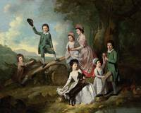 Johann Zoffany~The Lavie Children
