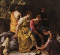 Johannes Vermeer~Diana and her Nymphs