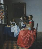 Johannes Vermeer~Girl with a Wineglass