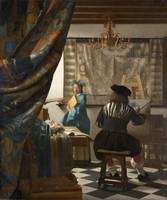 Johannes Vermeer~The Art of Painting