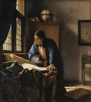 Johannes Vermeer~The Geographer