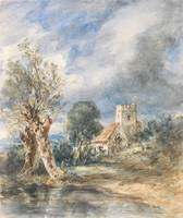 John Constable~Stoke Poges Church