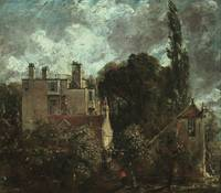 John Constable~The Grove, or the Admiral's House i