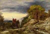 John Linnell~The Prophet Balaam and the Angel