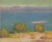 John Peter Russell~Landscape, Antibes (The Bay of