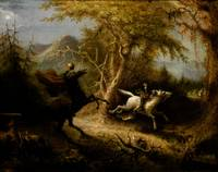 John Quidor~The Headless Horseman Pursuing Ichabod