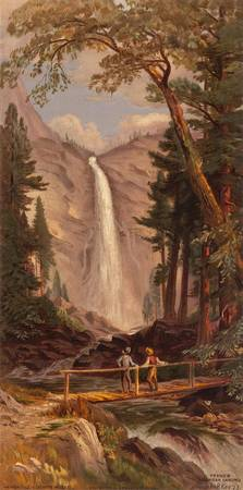 John Ross Key~Nevada Fall, Yosemite Valley