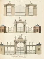 John Wilkes, of Milland House~Designs for Entrance