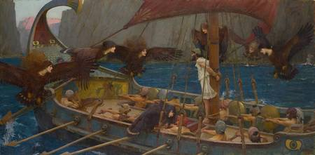 John William Waterhouse~Ulysses and the Sirens