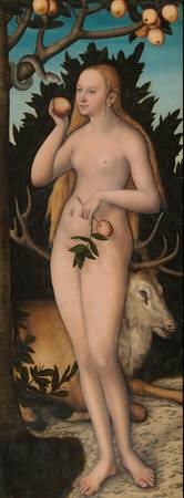 Lucas Cranach the Younger~Eve