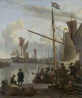 Ludolf Bakhuizen~The Y at Amsterdam, seen from the