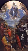 Ludovico Carracci~The Assumption of the Virgin