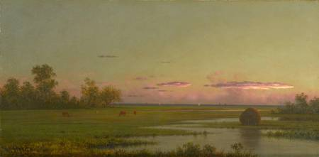Martin Johnson Heade~Salt Marsh at Southport, Conn