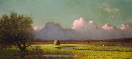 Martin Johnson Heade~Sunlight and Shadow The Newbu