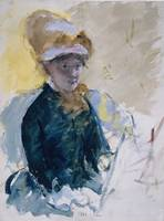 Mary Cassatt~Mary Cassatt Self-Portrait