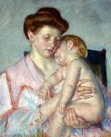 Mary Cassatt~Sleepy Baby