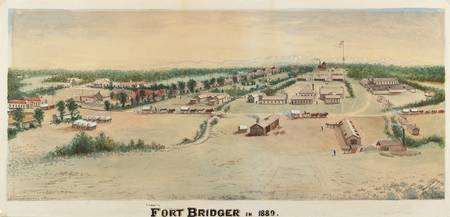 Merritt Dana Houghton~Fort Bridger