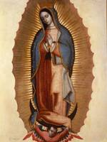 Miguel Cabrera~Virgen of Guadalupe (Our Lady of Gu