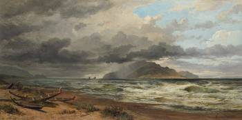 Nicholas Chevalier~Cook Strait, New Zealand