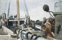 Edward Hopper~Deck of a Beam Trawler, Gloucester