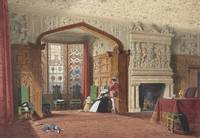 Joseph Nash~An Elizabethan Room at Lyme Hall, Ches
