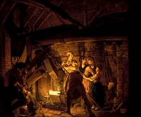 Joseph Wright of Derby~An Iron Forge