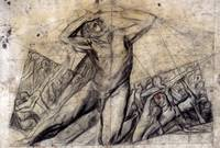 José Clemente Orozco~Study for central panel, Prom